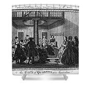 Quaker Meeting, C1790 Shower Curtain by Granger