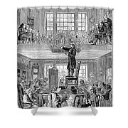 Quaker Meeting House Shower Curtain by Granger