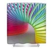 Rainbow 1 Shower Curtain by Steve Purnell