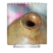 Rare John Regis Tuska Pottery Vase Shower Curtain by Kathy Clark