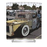 Rat Truck Shower Curtain by Steve McKinzie
