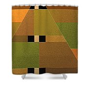 Reach Shower Curtain by Ely Arsha