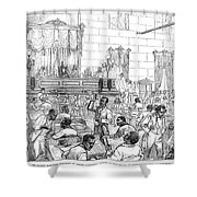 Reconstruction, 1876 Shower Curtain by Granger
