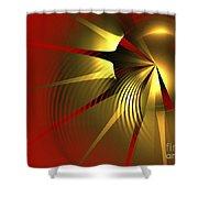Regal Shower Curtain by Kim Sy Ok