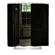 Resuscitator Room Shower Curtain by Gary Heller