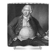 Richard Arkwright, English Industrialist Shower Curtain by Photo Researchers
