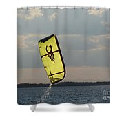 Rise From The Depths Shower Curtain by Rrrose Pix