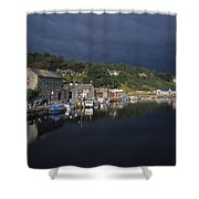 River Barrow, Graiguenamanagh, Co Shower Curtain by The Irish Image Collection