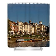 Riverside Shower Curtain by Dawn OConnor