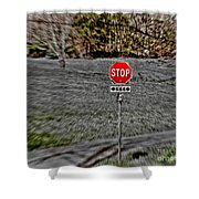 Road To Perdition 2 Shower Curtain by Dan Stone