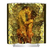 Romantic Dream Shower Curtain by Kurt Van Wagner