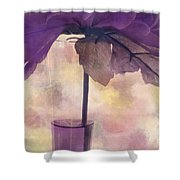 Romantisme - S0304d Shower Curtain by Variance Collections