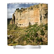 Ronda Rock In Andalusia Shower Curtain by Artur Bogacki