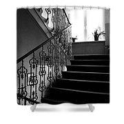 Room With A View Shower Curtain by Linda Woods