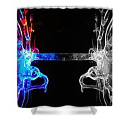 Roots Shower Curtain by Sumit Mehndiratta