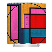 Rover Shower Curtain by Ely Arsha