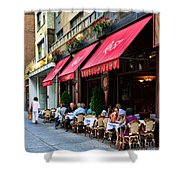 Rue 57 Nyc Shower Curtain by Paul Ward