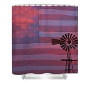 Rural America Shower Curtain by James BO  Insogna