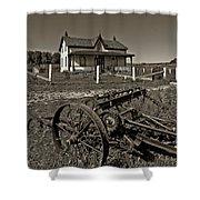 Rural Ontario Sepia Shower Curtain by Steve Harrington