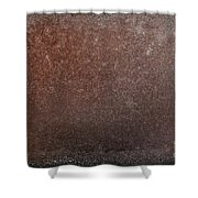 Rusty Iron Shower Curtain by Carlos Caetano