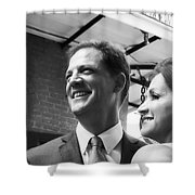 S And D 002 Shower Curtain by Kathleen K Parker