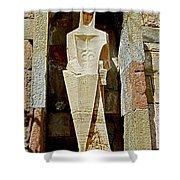 Saint George - Montserrat Shower Curtain by Juergen Weiss