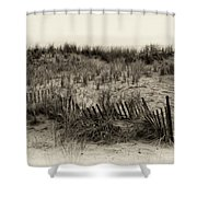 Sand Dune in Sepia Shower Curtain by Bill Cannon