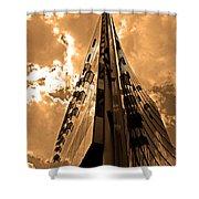 Sanofi - Aventis Berlin Shower Curtain by Juergen Weiss