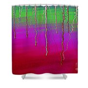 Sausalito Bay California In Color Shower Curtain by Ausra Huntington nee Paulauskaite