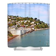 Sausalito California Shower Curtain by Jack Schultz