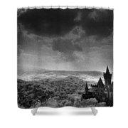 Schloss Wernigerode Shower Curtain by Simon Marsden
