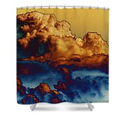 Sea And Sky Shower Curtain by One Rude Dawg Orcutt