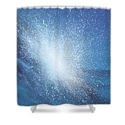 Sea Picture Vi Shower Curtain by Alan Byrne