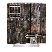 Segura Shower Curtain by Skip Hunt