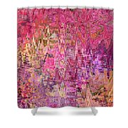 Shades Of Summer Shower Curtain by Carol Groenen