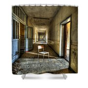 Shine On My Chair Shower Curtain by Nathan Wright