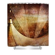 Showtime Shower Curtain by Andrew Paranavitana