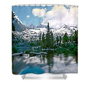 Sierra Shower Curtain by Kurt Van Wagner
