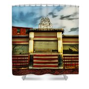 Silk City Lounge Shower Curtain by Bill Cannon