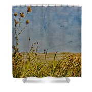 Singing In The Grass Shower Curtain by Jerry Cordeiro