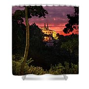 Sintra Palace Shower Curtain by Carlos Caetano