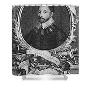 Sir Francis Drake, English Explorer Shower Curtain by Photo Researchers, Inc.