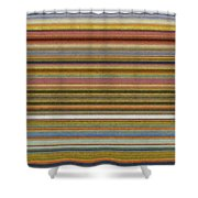 Soft Stripes l Shower Curtain by Michelle Calkins