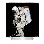 Spacesuit Used By Gemini Viii Shower Curtain by Stocktrek Images