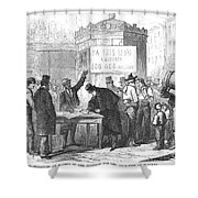 Spain: Abolitionists, 1869 Shower Curtain by Granger