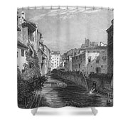 Spain: Grenada, 1833 Shower Curtain by Granger