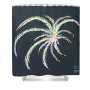 Sparkler Shower Curtain by Alys Caviness-Gober
