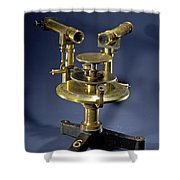 Spectroscope, Circa 1920 Shower Curtain by Science Source