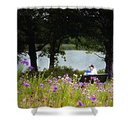 Spring Love Shower Curtain by Tamyra Ayles