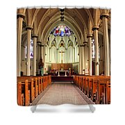 St. Mary's Basilica Halifax Shower Curtain by Kristin Elmquist